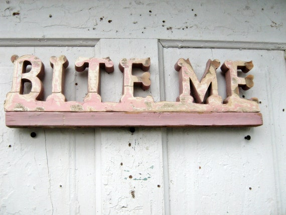 Bite Me Geek Pollyanna Reserved listing for karen
