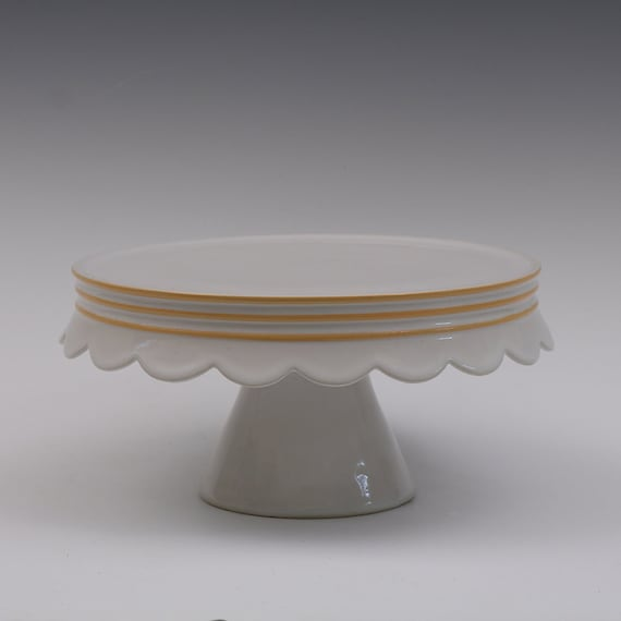 cake stands for sale seconds scallop edge ceramic cake stand for by 2339