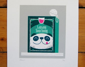 Lapsang Souchong Screenprint