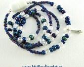 Beaded lanyard, Breakaway Lanyard, Registered Nurse Gifts, Cute lanyards, for badges, ID holder, Jewelry lanyard necklace, for keys keychain