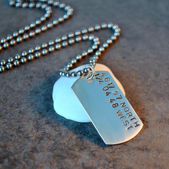 Private Listing for Tilla - custom sterling silver dog tag