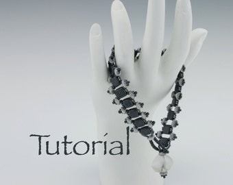 Beaded Bracelet Tutorial: River Walk Digital Download