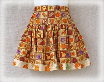 size: 2T - HARVEST GATHERING - Boutique Girls Skirt - Sale