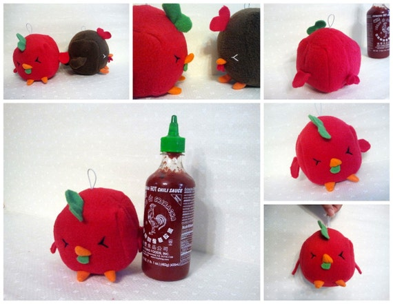 Spicy Chicken Sauce Plush