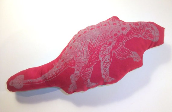 Pink Euoplocephalus Hard-headed Vegetarian Dinosaur Stuffie