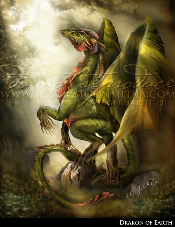 Earth Elemental Dragon | www.pixshark.com - Images ...