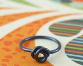20 gauge 10mm - YOU PICK Color - Niobium Lip Ring Piercing - Hypo Allergenic