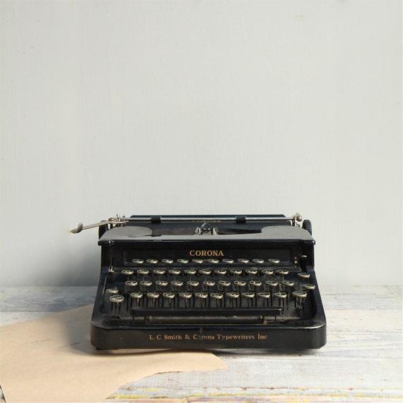 Smith Corona Typewriter Vintage 78