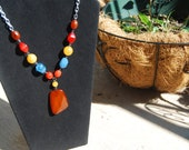 Vintage Color Pop Necklace (Free Shipping)
