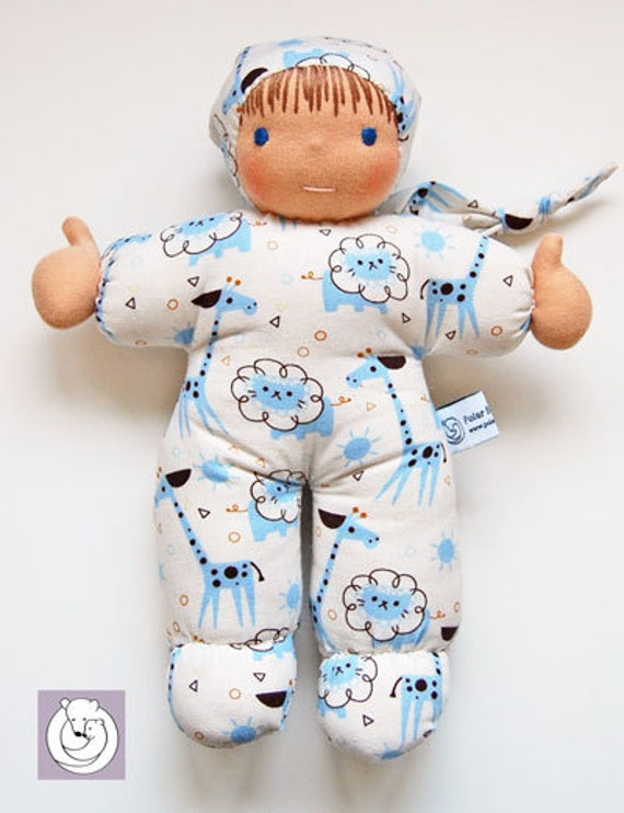 Waldorf  Doll Cuddle Baby 12 inch all Natural Materials