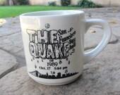 "1989 San Francisco ""The Quake"" Mug"