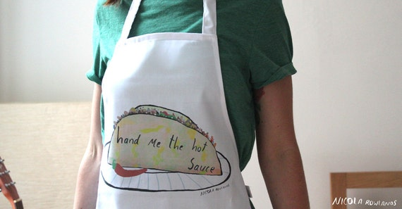 Hand me the hot sauce apron