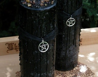 Witches Magick Alchemy Pillar 3x9