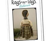 Primitive E-Pattern 67 - Colonial Spool Doll