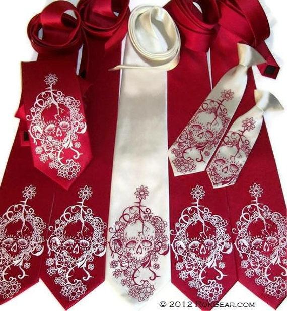 mens necktie set of 10 neckties custom print in your wedding colors