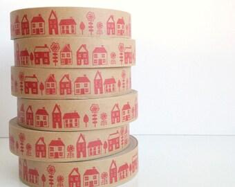 Street - decorative paper tape - slight seconds