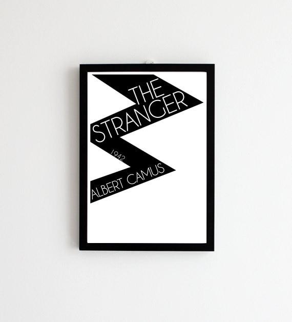 The Stranger - Albert Camus // Book Cover Art