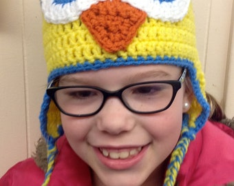 Wise Old Owl hat for babies and children of all ages - Choose your own colors