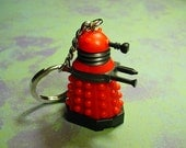 Short Time SALE Dalek Doctor Who Keychain Necklace or Ornament YOU PICK