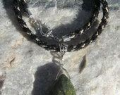 Beautiful Serpentine Necklace - Green - FREE SHIPPING