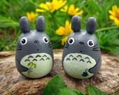 2 mini Tototo Dolls Studio Ghibli toy Gray (Size S) 1