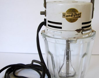 Vintage Retro Mixer Handy Hot Electric Whipper Glass Vintage  Kitchen Decor