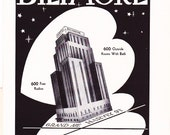 1950s Hotel Advertisement - Oklahoma Biltmore Oklahoma City - Vintage Antique Retro 50s Era Pop Art Ad for Framing 50 Years Old