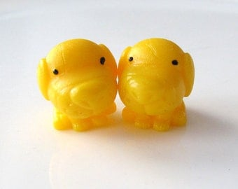 LAST SET - Sunny Dogs - Needle Buddies - Small Sock Size Double Pointed Needle DPN Holders