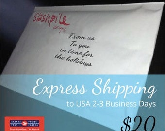 Express Shipping to USA 2-3 business days