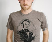 honest abe unisex t-shirt size 2xl