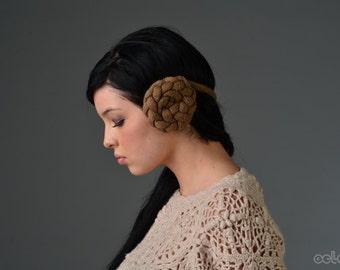 Leia Earmuffs in Sepia