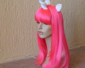 PINK My Little Pony costume wig - Hot pink my little pony cosplay