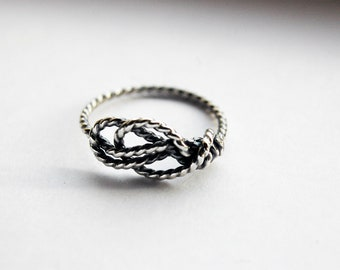Sailor's Love Knot ring