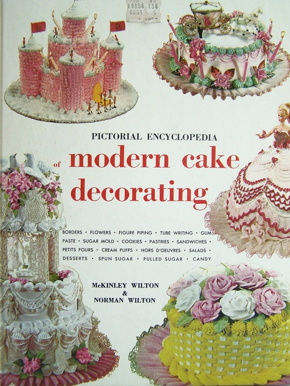 Cake Decorating Books In Sri Lanka : Items similar to CLEARANCE Wilton Cake Decorating Book ...