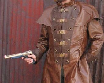 Custom Leather Dusters (Modern, Steampunk, Western, Scifi, Goth)