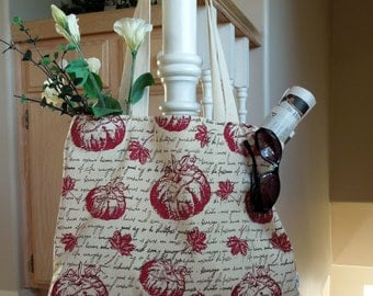 SALE Harvest Time Large Tote Bag