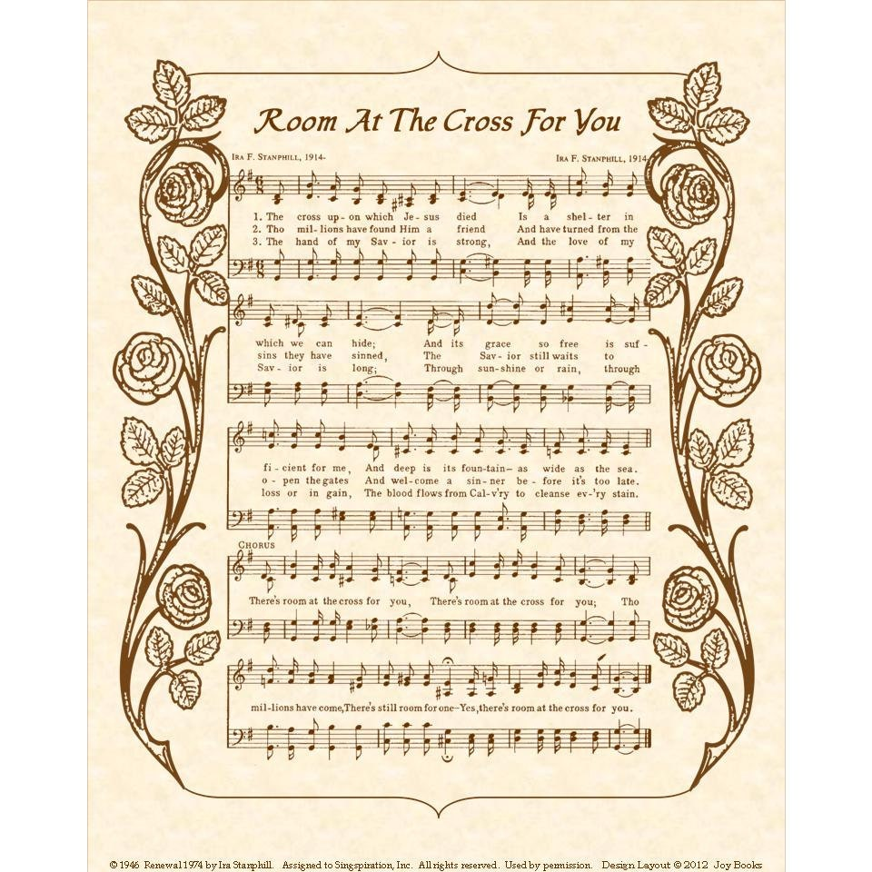 There S Room At The Cross Sheet Music