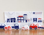 Fabric Cars & their travelling Garage