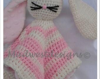 Rabbit Crochet Snuggle Buddy
