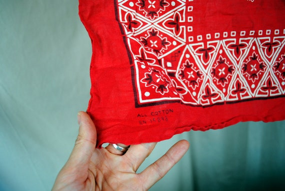 Vintage Fast Color Bandana - Cat Tiger