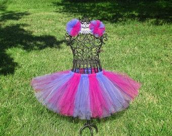 Cheshire Cat Tutu - Girls cat costume- Baby Cheshire tutu- Dance tutu- Disney Costume, Cheshire Cat Costume, Alice in Wonderland tutu