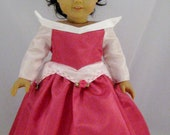 Sleeping Beauty dress for American Girl or other 18 inch Doll