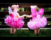 Pink Blossom Fairy Costume Tutu Dress, Fairy Gifts for Girls, Butterfly Gifts