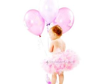 Pink Baby Girls Tutu   1st Birthday Skirt