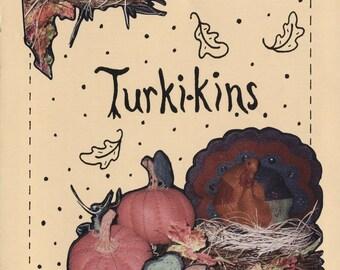 Turki-kins - Pattern for Turkeys and Pumpkins