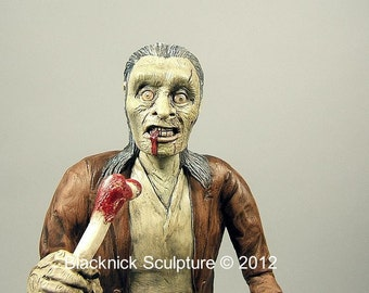 Zombie Walking Dead Sculpture