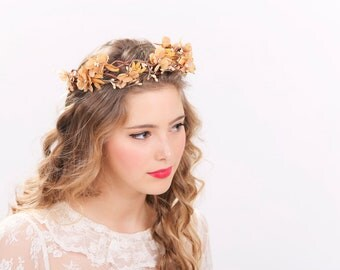 rustic flower crown bridal headband, flower crown, headpiece, wedding headband bridal headpiece flower headpiece wedding headpiece