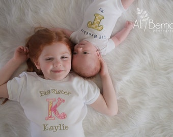 Big Sister Shirt - Big Sister Sibling Shirt - Big Sis Shirt - Big Brother Shirt - Big Sister Little Sister