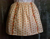 Playful Posey Skirt with Headband (L/XL)