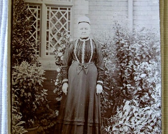 Antique Photograph - Old Woman